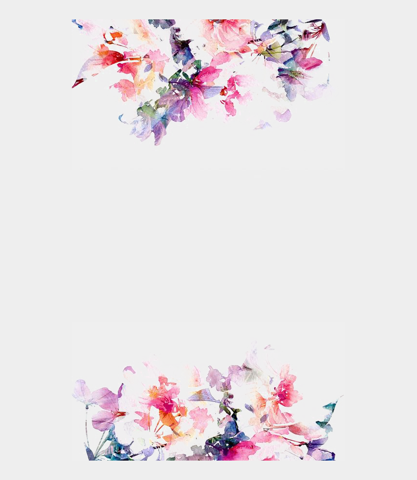 free watercolor flower clipart, Cartoons - Watercolor Flowers Png Hd Quality - Watercolor Pastel Flower Background