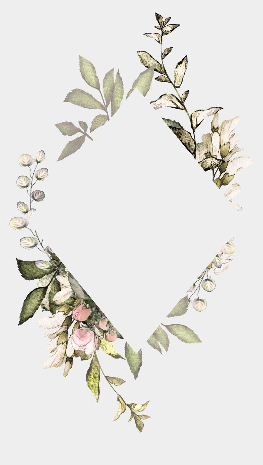 H746a Flower Frame Wallpaper Backgrounds Cute Wallpapers