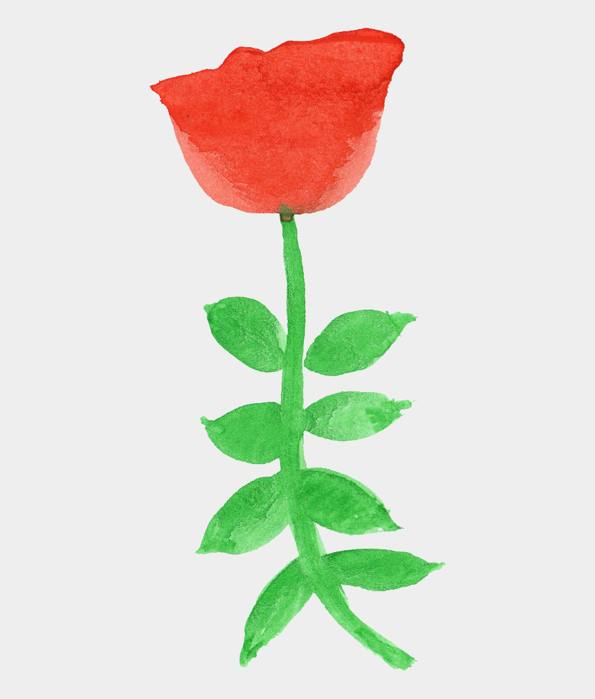 free watercolor flower clipart, Cartoons - Free Download - Garden Roses