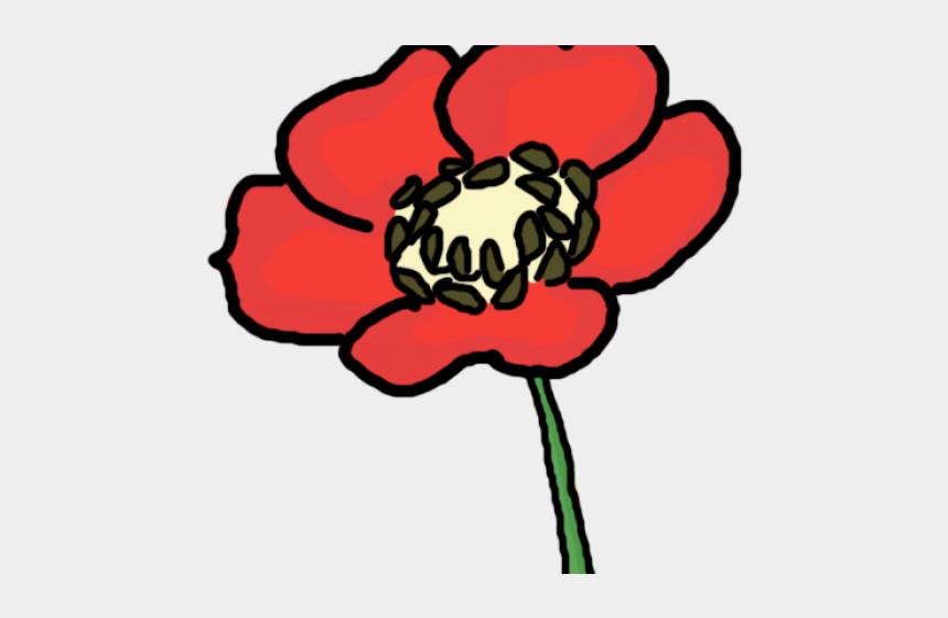 flower petal clipart, Cartoons - Opium Flower Cartoon