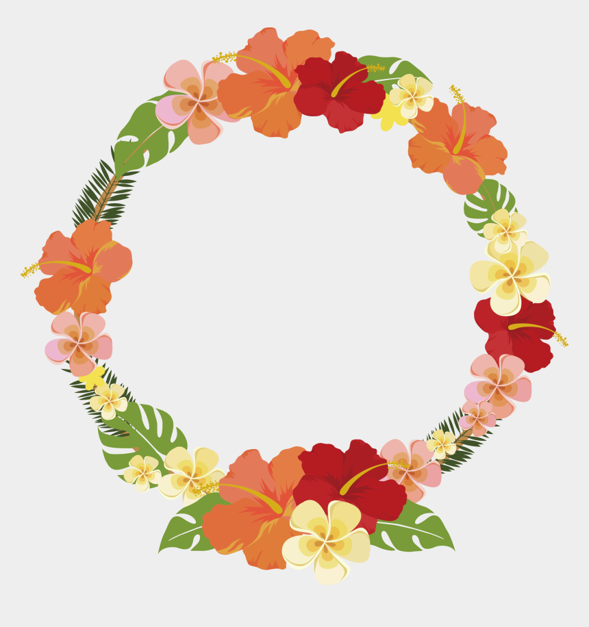 summer flowers clipart, Cartoons - Round Summer Flower Decorative Frame 2547*2597 Transprent - Round Flower Frame Png