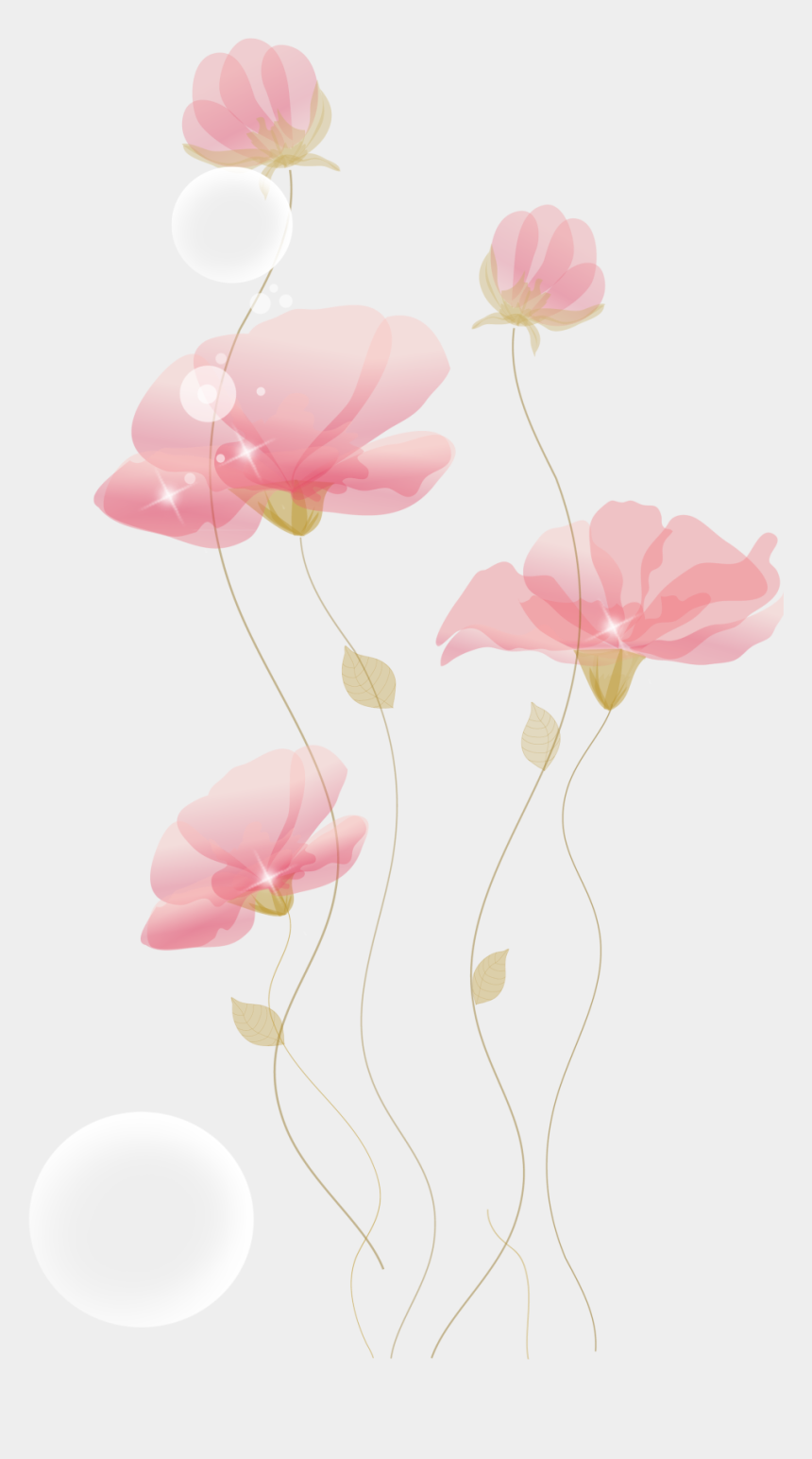 flower stem clipart, Cartoons - Flowers Hand-painted Free Transparent Image Hq - Flower