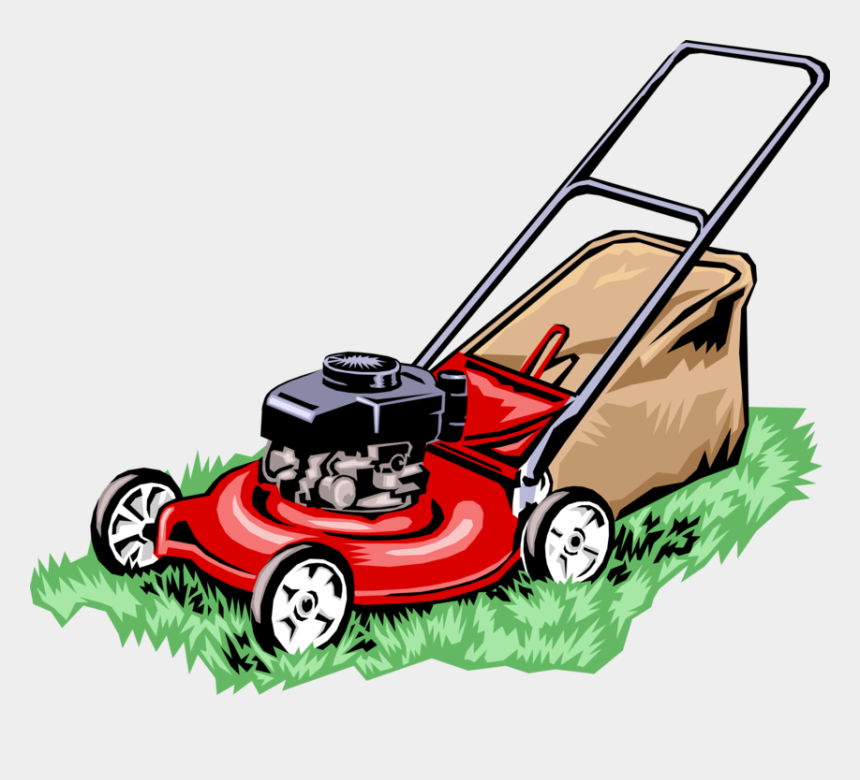 mower clipart, Cartoons - Lawnmower Vector Clip Art - Lawn Mower Png
