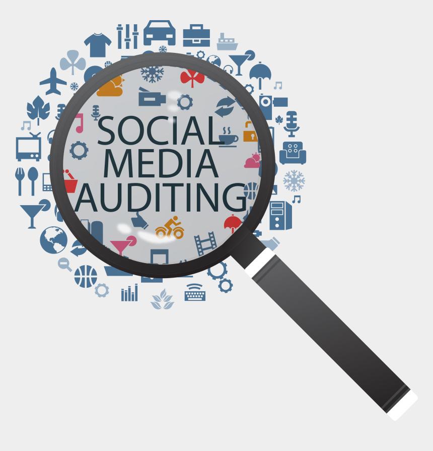 audit clipart, Cartoons - Social Media Audit Png