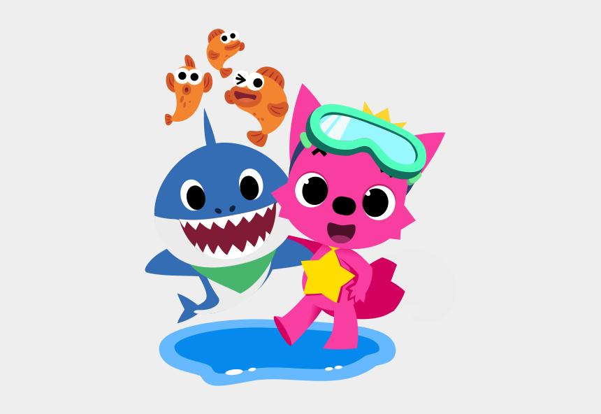 baby shark clipart, Cartoons - Topper De Baby Shark