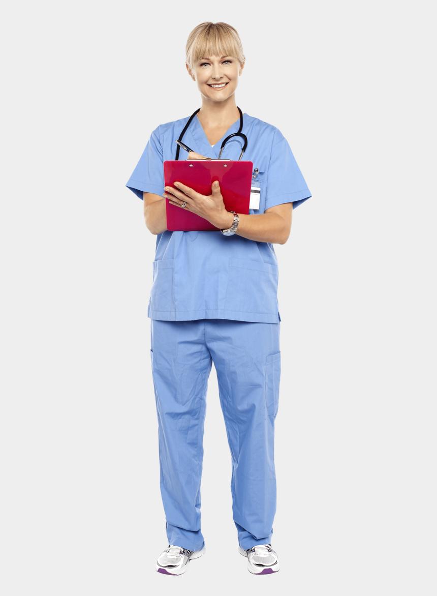 female doctor clipart, Cartoons - Female Doctor - Standing