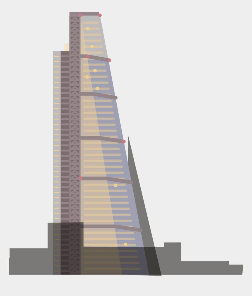 skyscraper clipart, Cartoons - Skyscraper Clipart Building Floor - Cheese Grater London Illustration