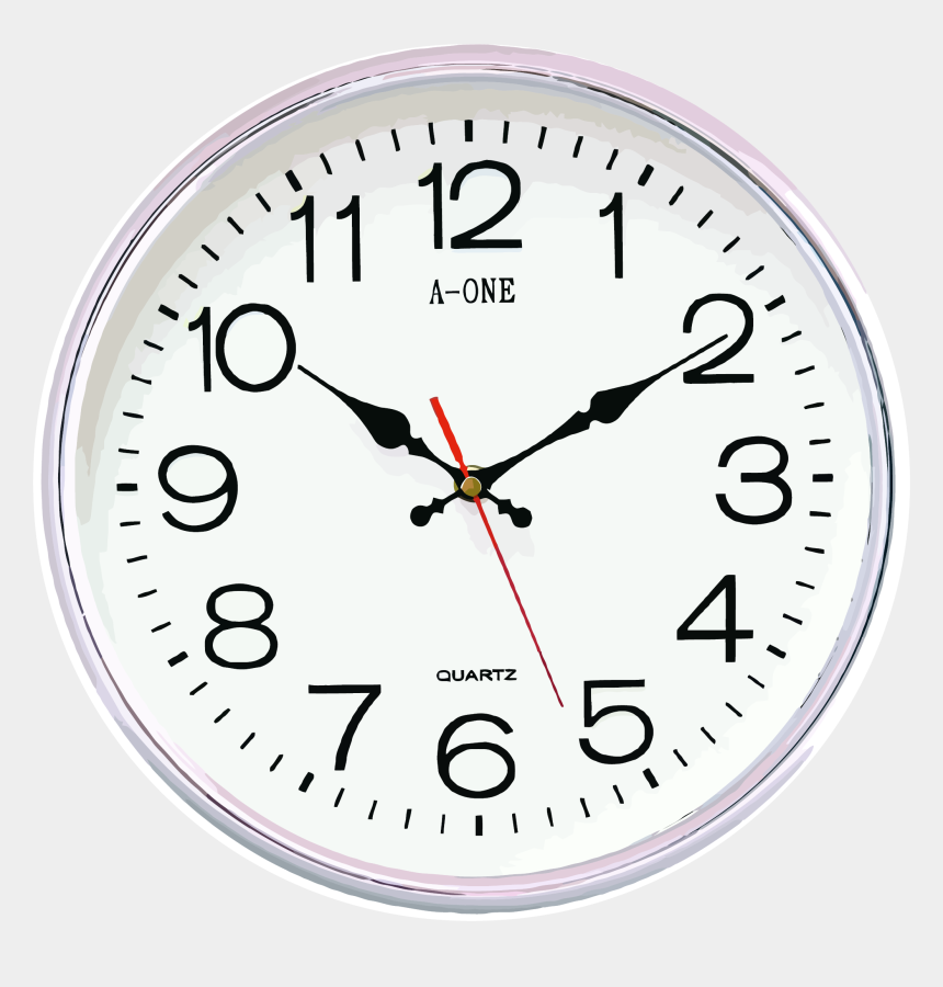 wall clock clipart, Cartoons - Simple Wall Clock With Glass Surface Clipart Png - Fifth Pentacle Of Jupiter
