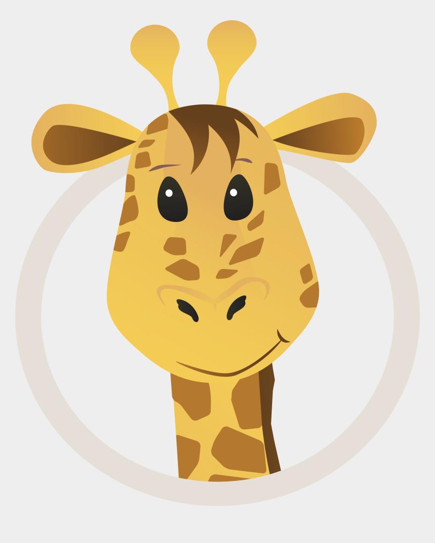 giraffe head clipart, Cartoons - Clipart Giraffe Neck Head - Head Giraffe Cartoon Png