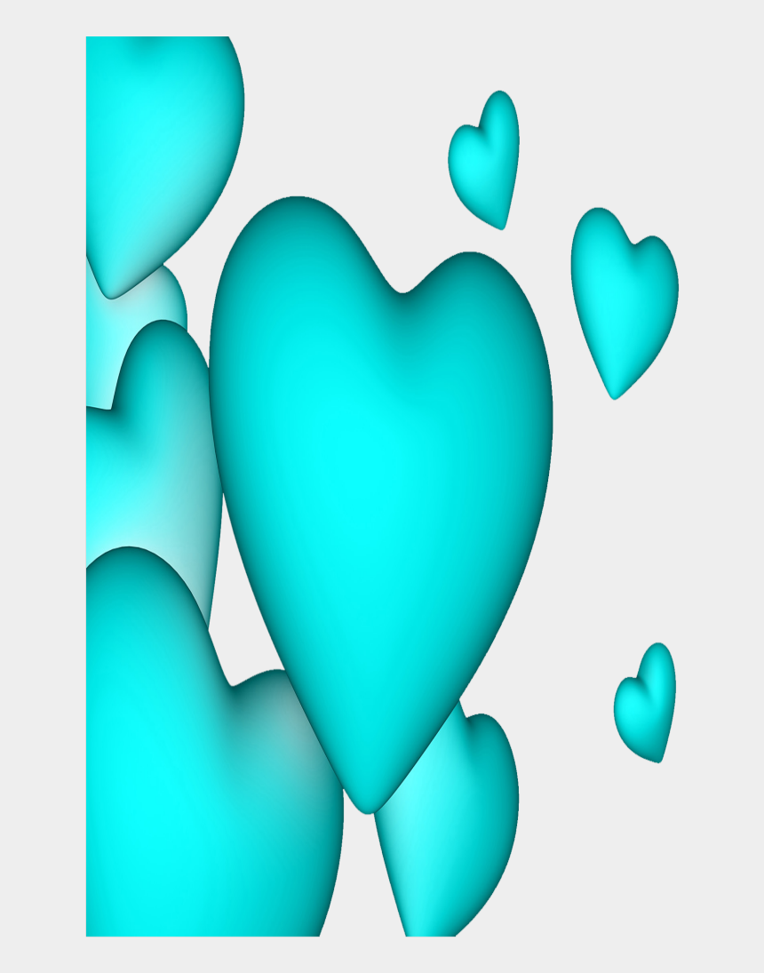 balloon border clipart, Cartoons - #mq #blue #heart #hearts #borders #border - Heart