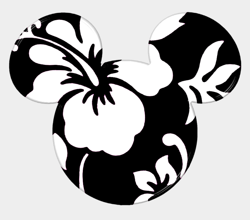 minnie mouse head clipart, Cartoons - Hawaii Clipart Minnie Mouse - Mickey Mouse Hawaiian Style