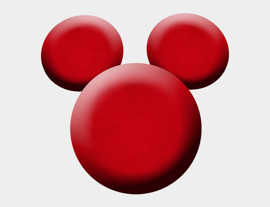 Mickey Outline Png - Mickey Head Red Png, Cliparts
