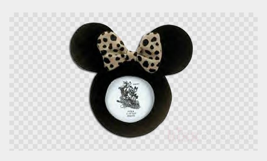 minnie mouse ears clipart, Cartoons - Disney's Plush Minnie Mouse Ears Picture Frame Clipart - Love Icon Transparent Background
