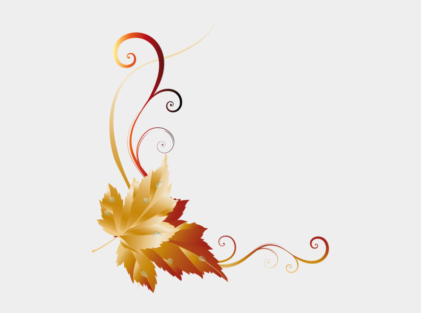 autumn border clipart, Cartoons - Fall Transparent Leaf Decor Picture Wood Burning Patterns, - Fall Transparent Borders