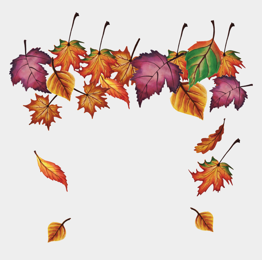 free clipart autumn leaves, Cartoons - Fall Leaves Falling Png - Autumn