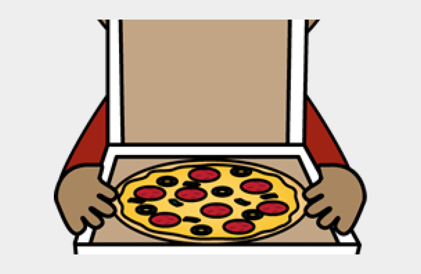 pizza box clipart, Cartoons - Box Clipart Pizza - Girl With Pizza Clipart