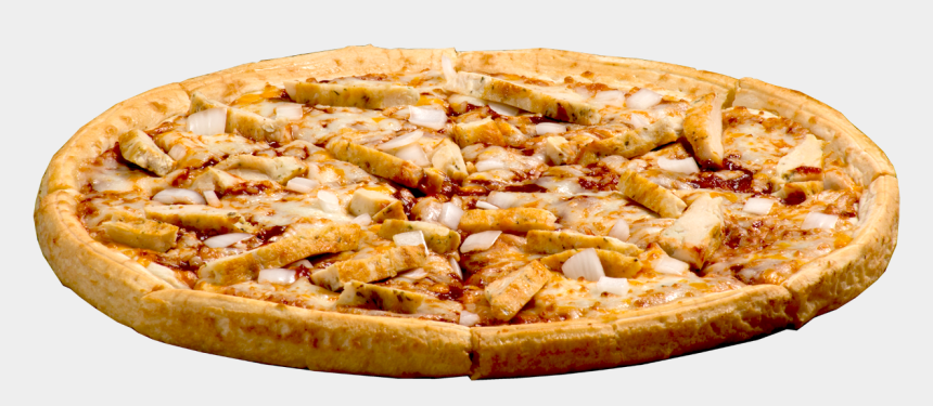 pizza toppings clipart, Cartoons - Barbecue Chicken Pizza Png