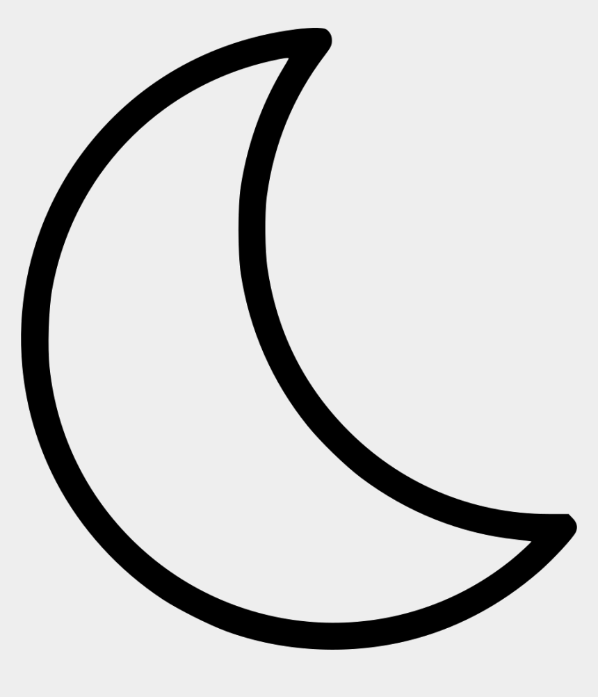 Moon Clipart Moon Clipart Black And White Half Moon