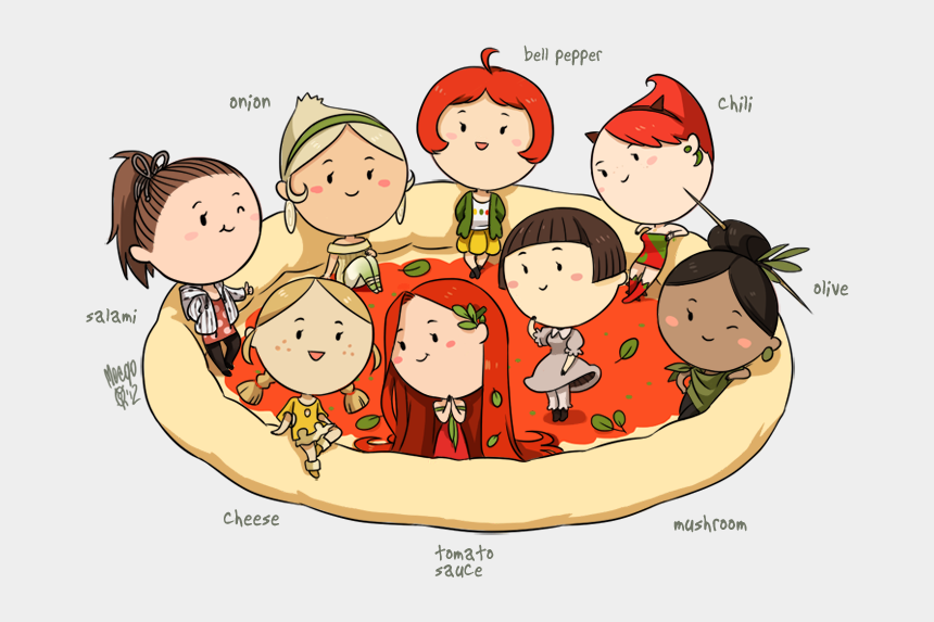 cheese pizza clipart, Cartoons - Pizza Clipart Club - Food Drawings Of People