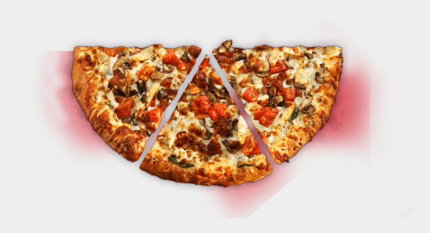 pizza toppings clipart, Cartoons - This Isn't Heaven, But It's As Close As We Could Get - Half Pizza Png