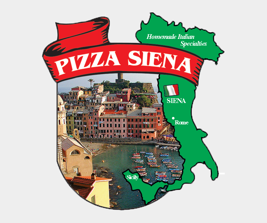pizza toppings clipart, Cartoons - Pizza Siena Home - Vernazza