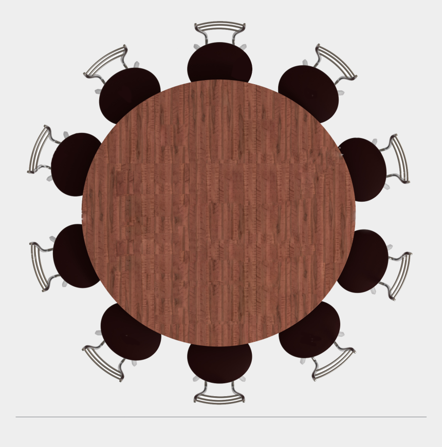 table and chairs clipart, Cartoons - Download Clipart - Round Dining Table Top View Png