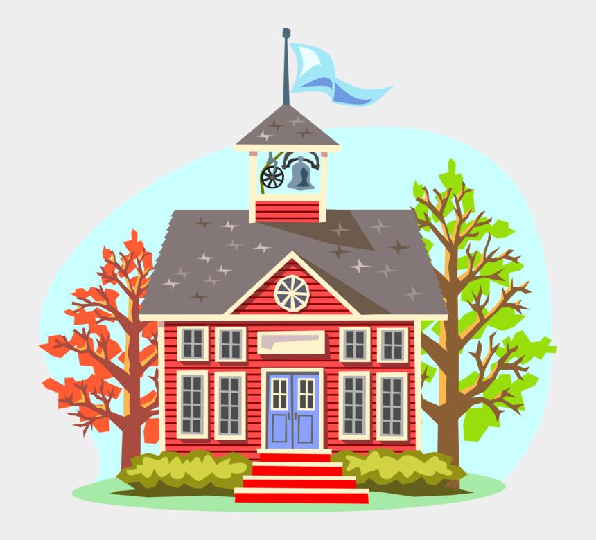 old house clipart, Cartoons - Schoolhouse School House Clip Art - Cartoon Schools