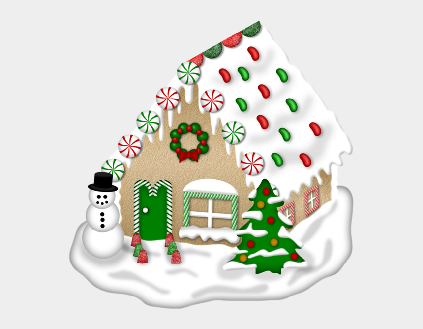 gingerbread house clipart, Cartoons - Drawing Candy Gingerbread House - House Christmas Winter Clipart