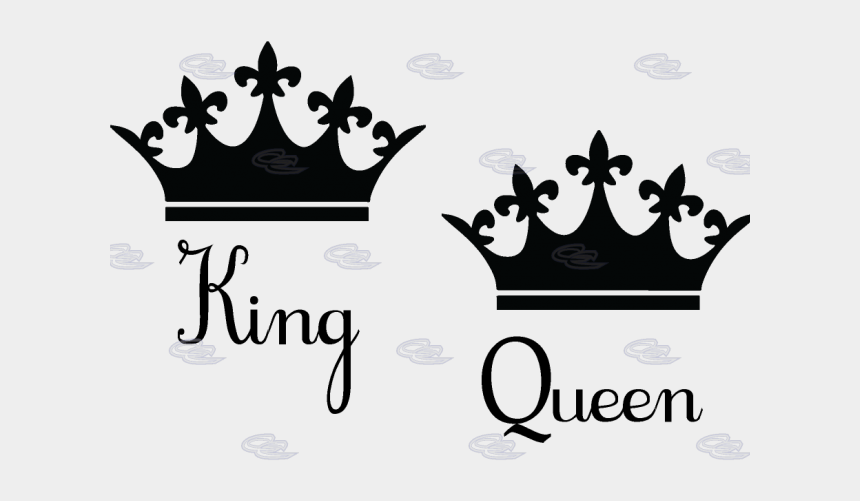 crown clipart black and white, Cartoons - Queen Clipart Black And White - Queen Crown Vector Png