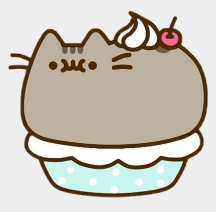 fat cat clipart, Cartoons - #cute #kawaii #fat #cat @cherry #pretty #aww - Pusheen The Cat