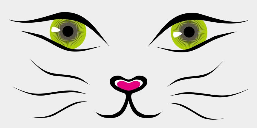 cat face clipart, Cartoons - Cat Cartoon Clip Art - Cat Face Drawing