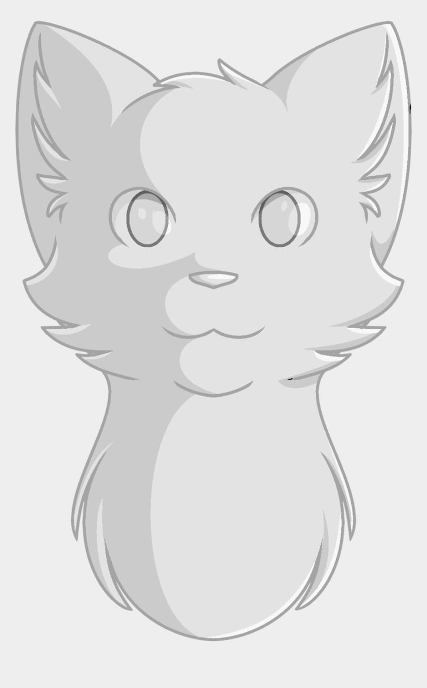 cat head clipart, Cartoons - Drawn Feline Coraline Cat - Warrior Cat Drawings Head