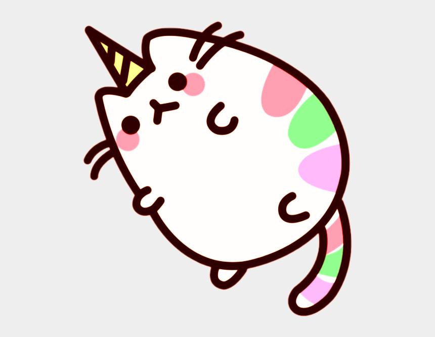 fat cat clipart, Cartoons - #unicorncat #unicorn #cat #fatcat #cute #pusheen #kitty - Kawaii Fat Cat