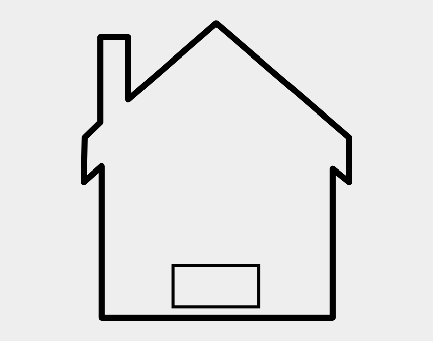Multiplication House Clip Art Black And White Simple House Clipart Cliparts Cartoons Jing Fm