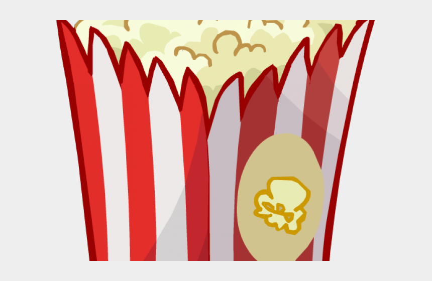 movie and popcorn clipart, Cartoons - Boardwalk Clipart Movie Popcorn - Cinema Pop Corn Png