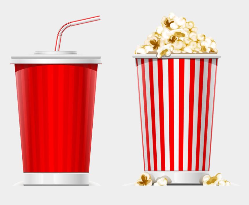 movie and popcorn clipart, Cartoons - Soft Drink Popcorn Slush - Pop Corn And Soda Png