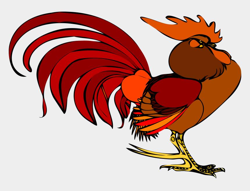 cute chicken clipart, Cartoons - Little Red Hen Clipart - Red Rooster Clip Art