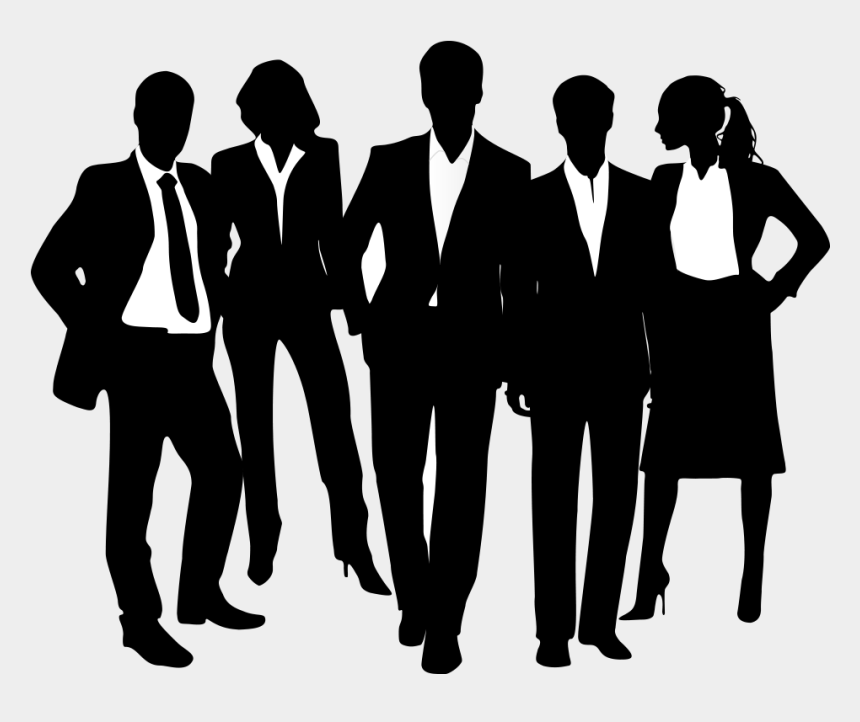 business people clipart, Cartoons - Business People Silhouette Png - Silhouettes Of Business People