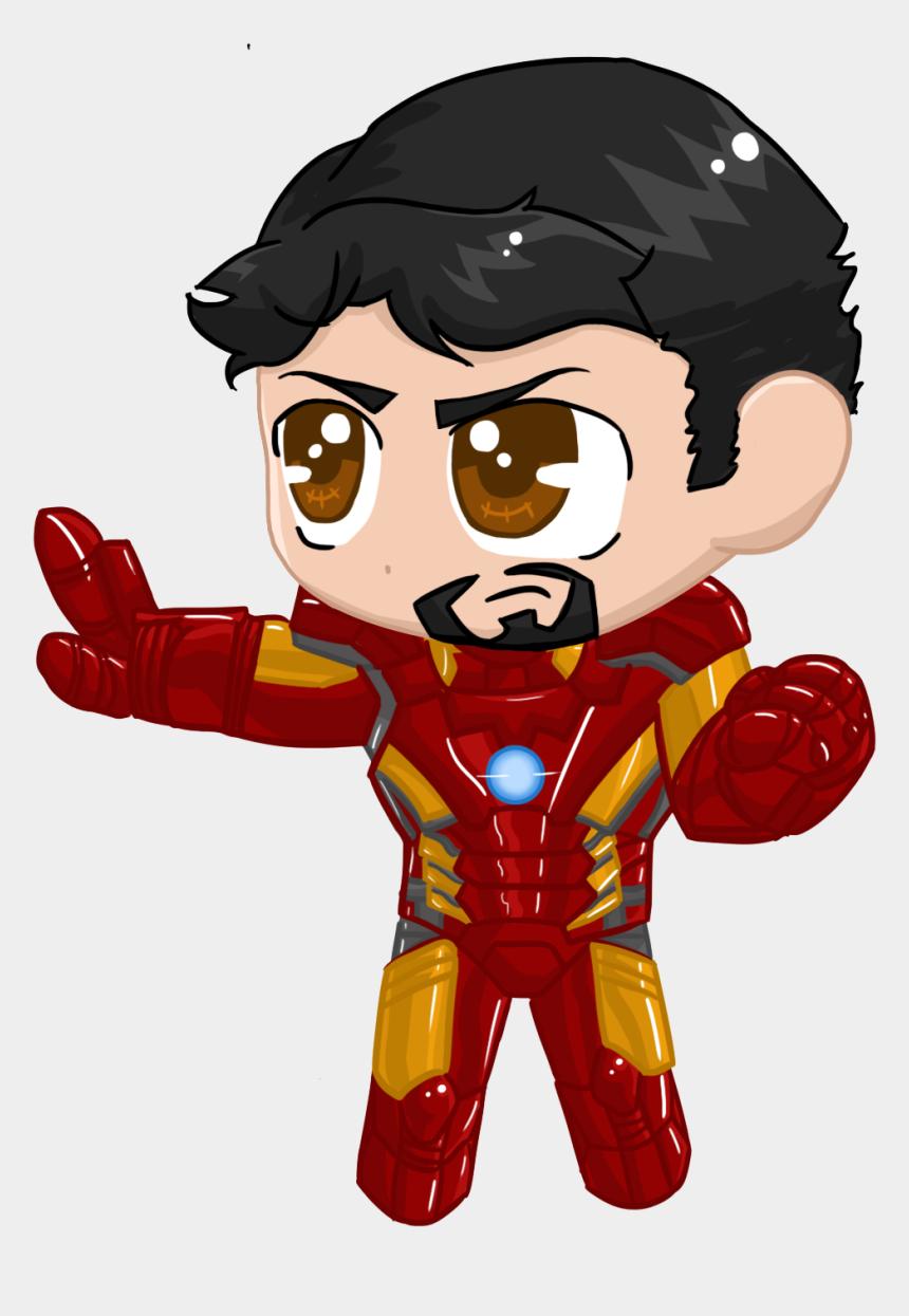 iron man clipart, Cartoons - Little Iron Man - Iron Man Chibi Png