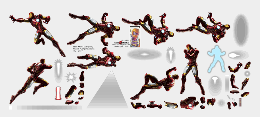 iron man clipart, Cartoons - Click For Full Sized Image Iron Man - Iron Man Sprite Sheet