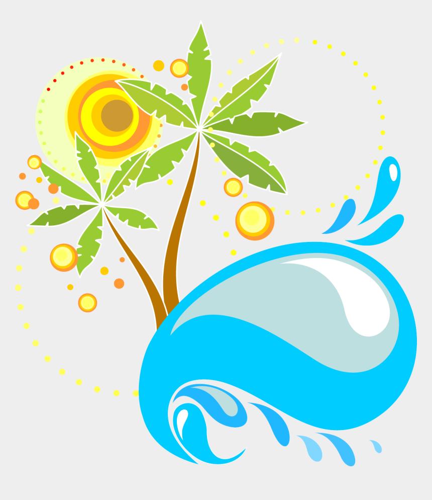 summer reading clipart, Cartoons - Arecaceae Tree Euclidean Vector - Summer Reading Kids