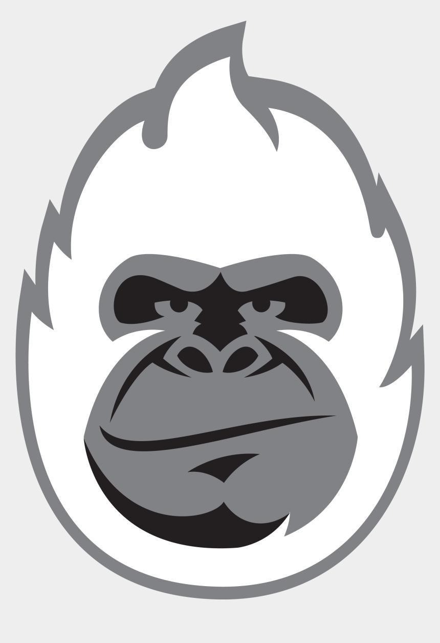pumpkin outline clipart, Cartoons - Pumpkin Carving Gorilla Stencil