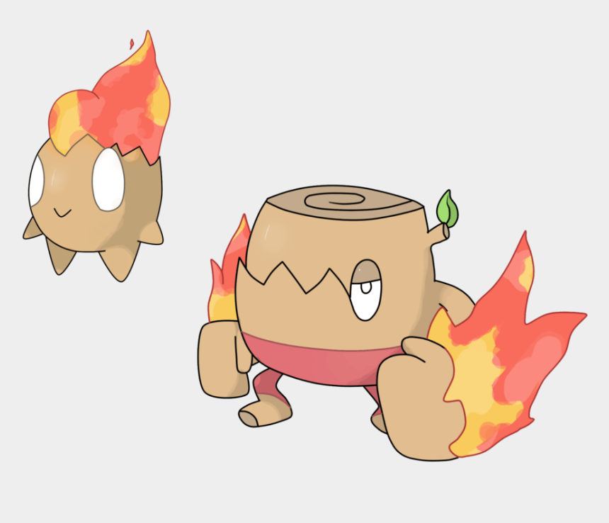 forest fire clipart, Cartoons - Clip Arts Related To - Fire Grass Type Fakemon