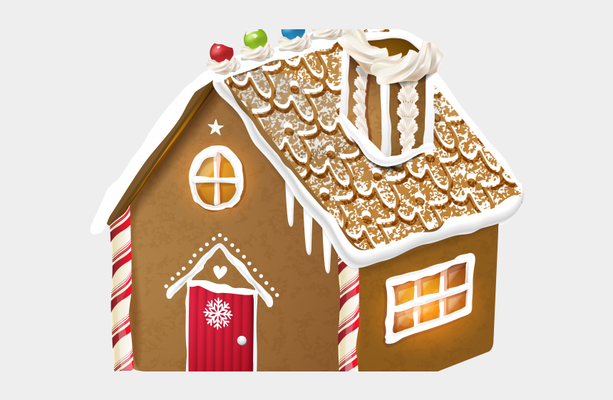 simple house clipart, Cartoons - Cottage Clipart Simple House - Free Gingerbread House Background