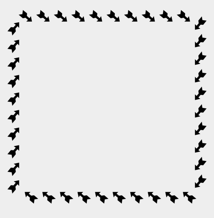 children border clipart, Cartoons - Arrows Free Stock Photo Illustration Of A Ⓒ - Arrow Frame Clipart