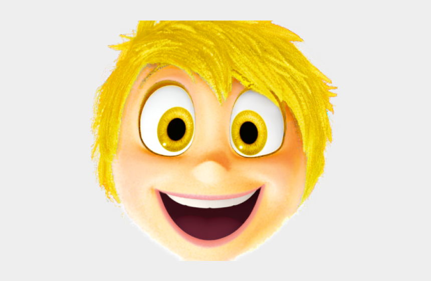 inside clipart, Cartoons - Anger Clipart Inside Out - Joy Inside Out Face