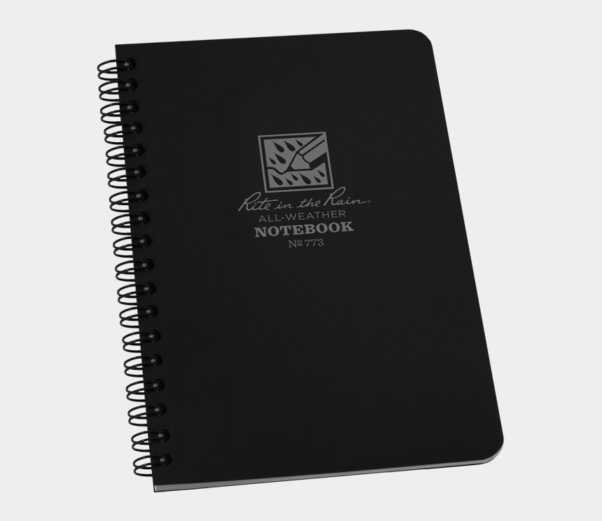 notepad clipart, Cartoons - Notebook Png - Side Spiral Notebook