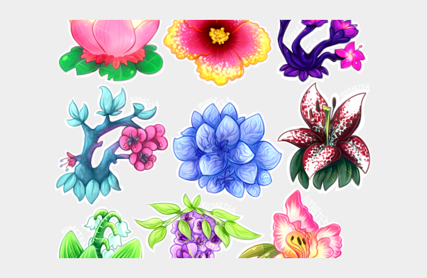 notepad clipart, Cartoons - Aesthetic Clipart Flower - Aesthetic Flower Drawing