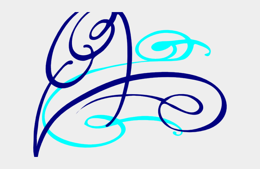 decorative line clipart, Cartoons - Decorative Line Blue Clipart Decorative Swirl - Decorative Swirl Clipart Png