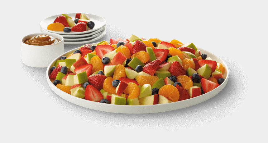 fruit salad clipart, Cartoons - Fruit Plate Png - Price Chick Fil A Fruit Tray
